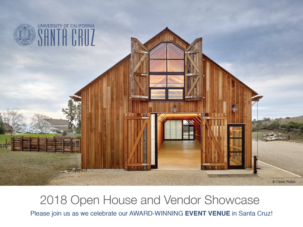 UCSC cowell hay barn open house